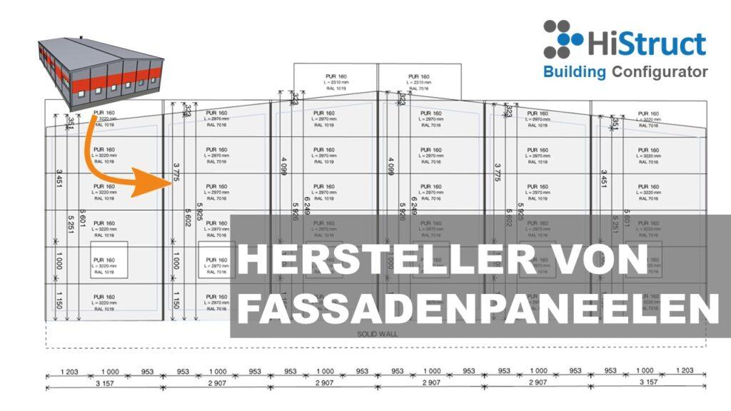 Fassadenpaneelekonfigurator für Vertrieb