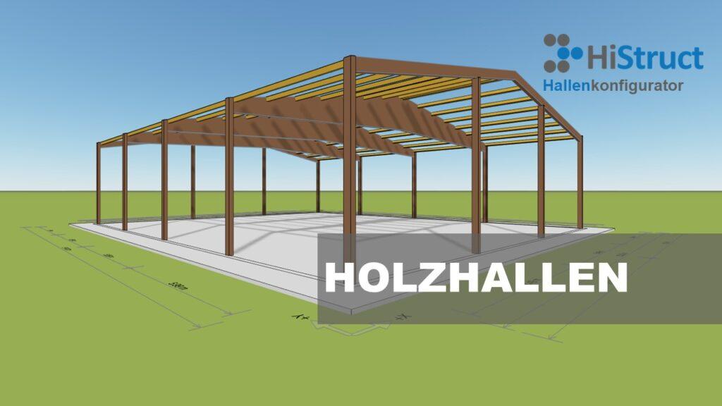 Holzhallenkonfigurator für Vertrieb