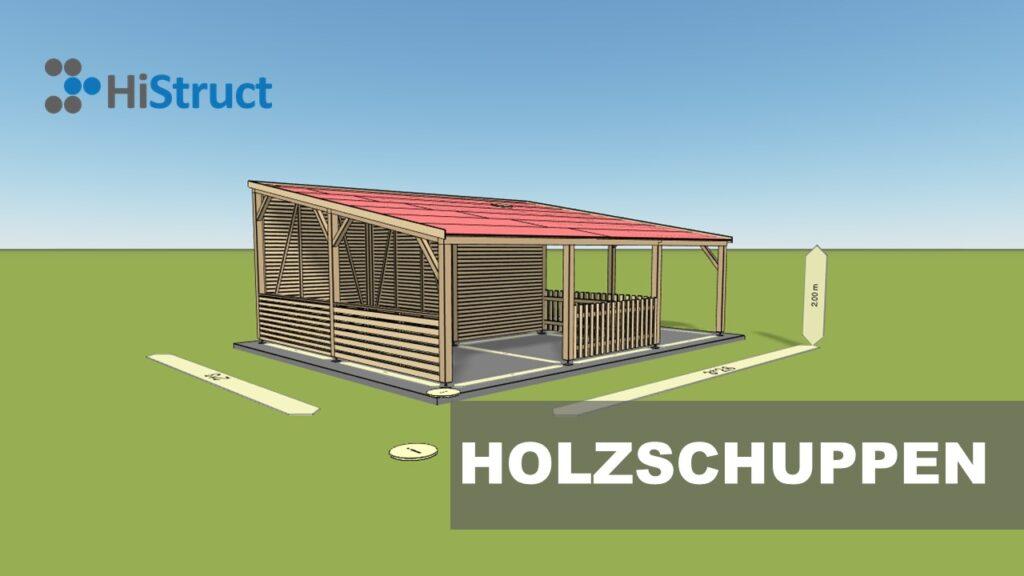 Holzschuppenkonfigurator für Vertrieb