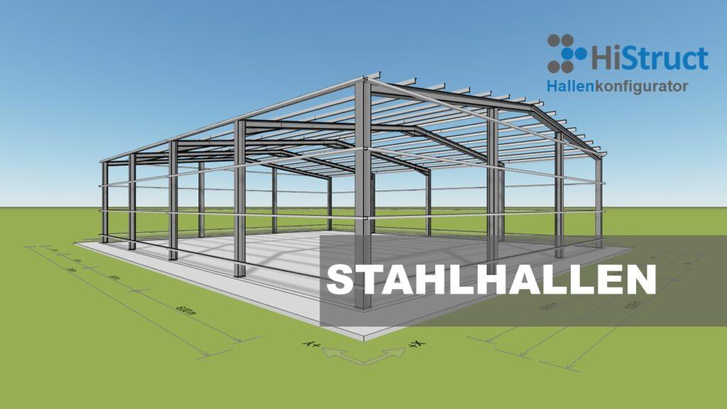 Stahlhallenkonfigurator für Vertrieb